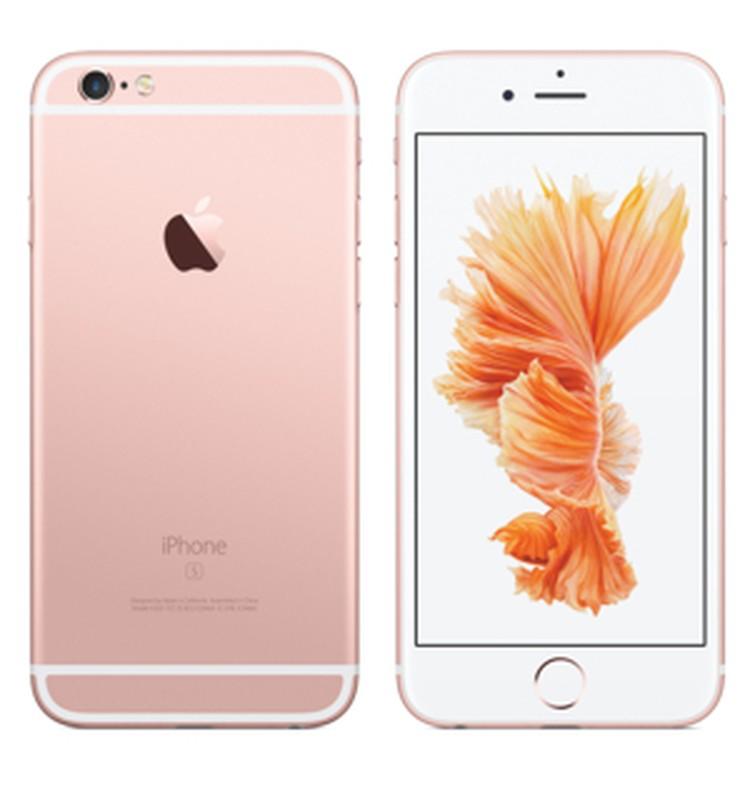 iPhone 6S Plus розово-золотистый