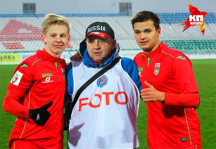 Зинченко и Кротов никому не отказывают в совместном фото