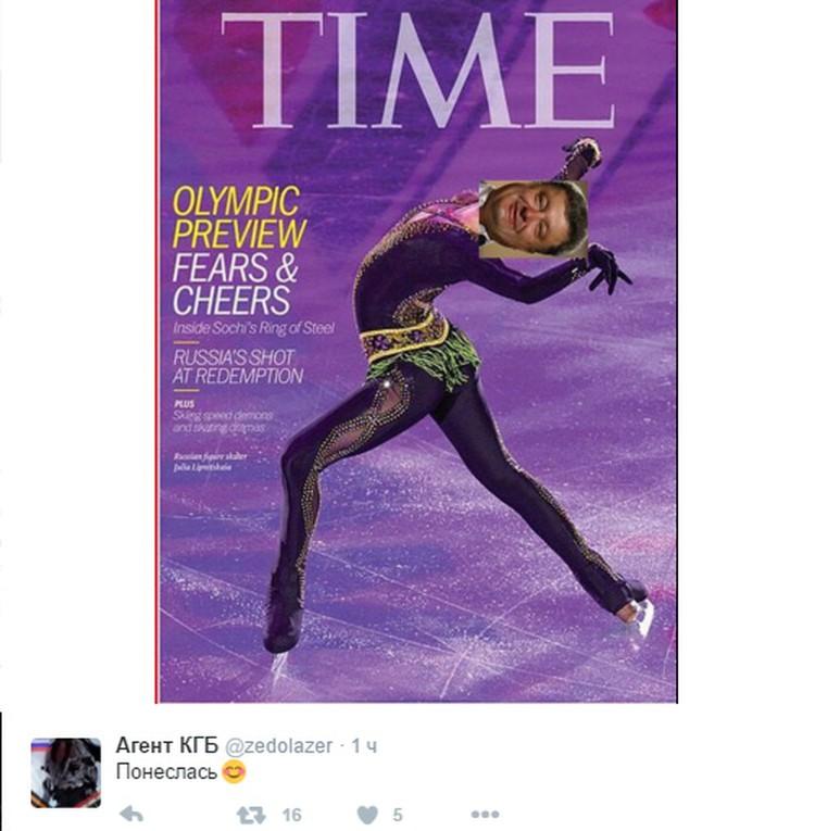 Фотографию Порошенко шутники продолжают размещать на обложках журналов