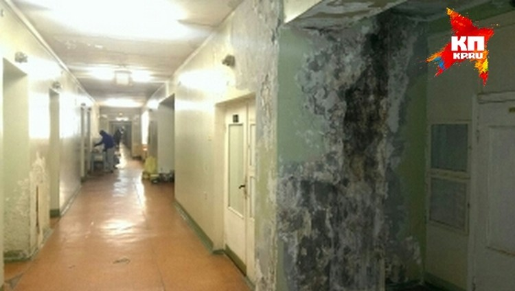 Так выглядят коридоры больницы, которая ждет переезда