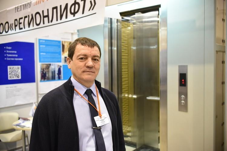 Руководитель компании «РегионЛифт» Сергей Николаев.