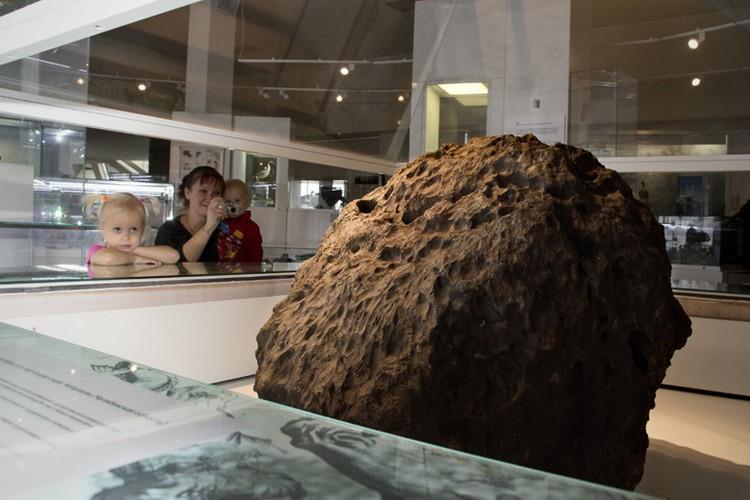 Метеорит хранится в областном краеведческом музее