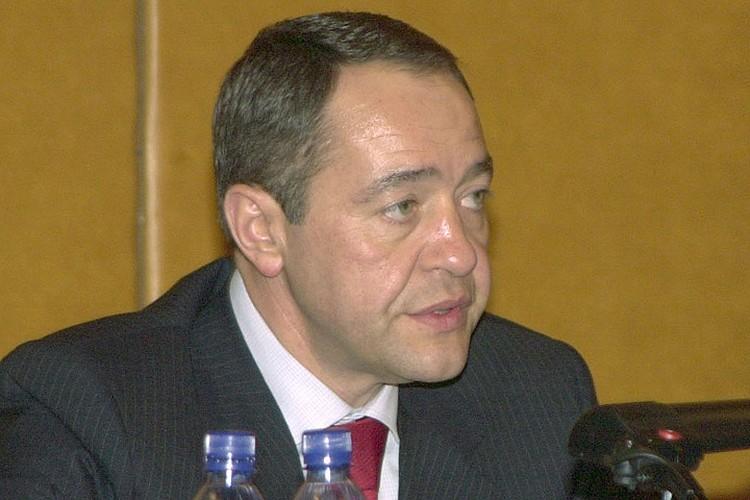 Михаил Лесин в 2002 году. Фото Константина Кижеля (ИТАР-ТАСС)