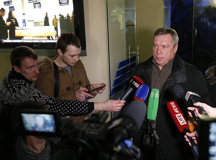 Василий Голубев заявил, что у специалистов нет иных версий, кроме плохих погодных условий. Фото: Валерий Матыцин/ТАСС