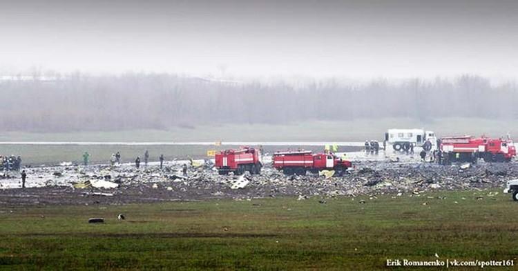 Снимки с места трагедии выкладывают и пользователи соцсетей. Фото: Erik Romanenko, http://vk.com/spotter161