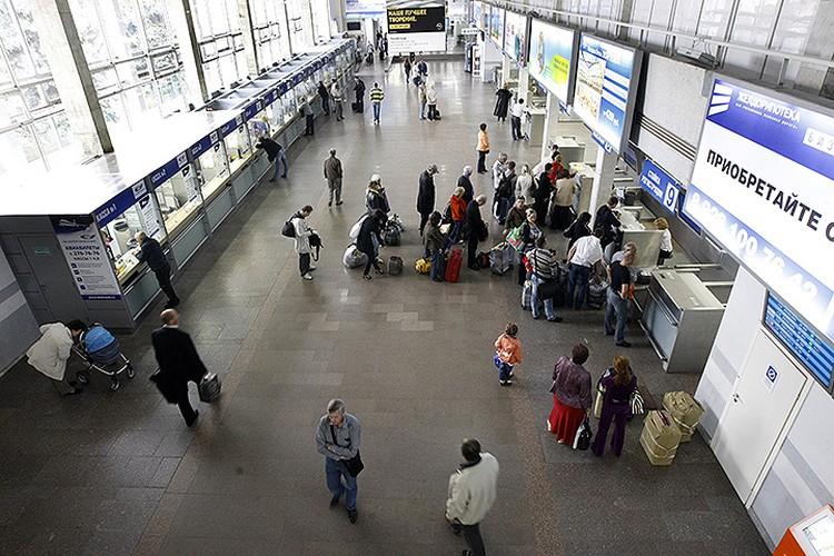 В помещениях международного аэропорта Ростова-на-Дону. Фото: Валерий Матыцин/ТАСС