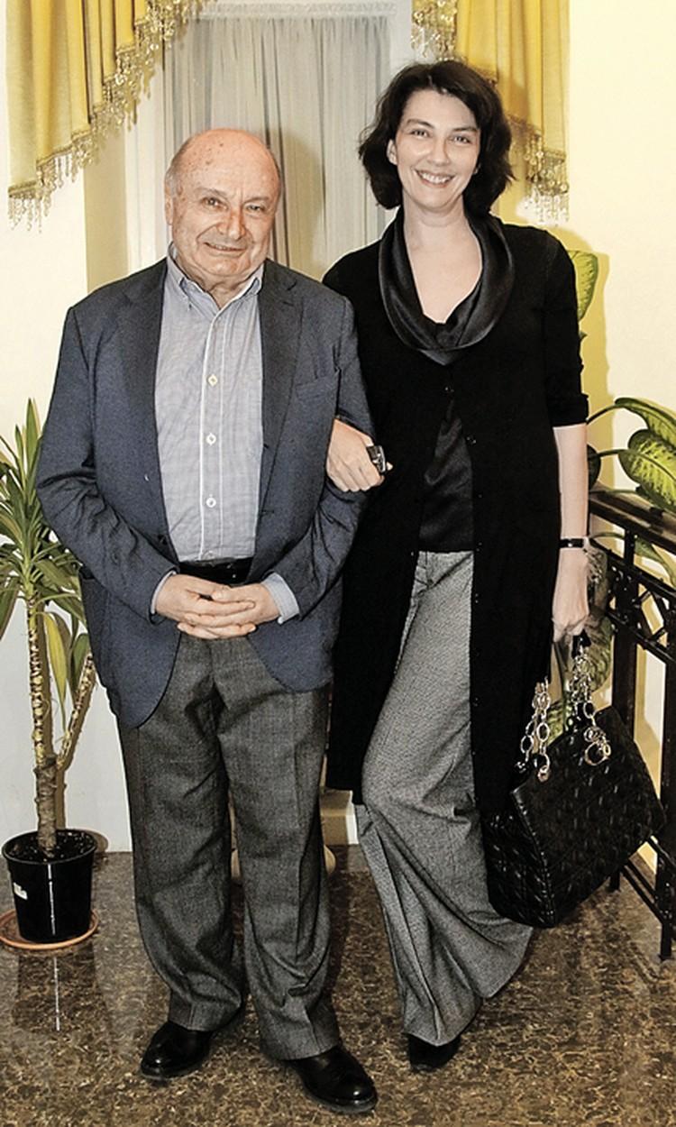 У сатирика со второй официальной женой Натальей есть общий сын Дмитрий. Фото: Сергей ИВАНОВ/PhotoXPress.ru