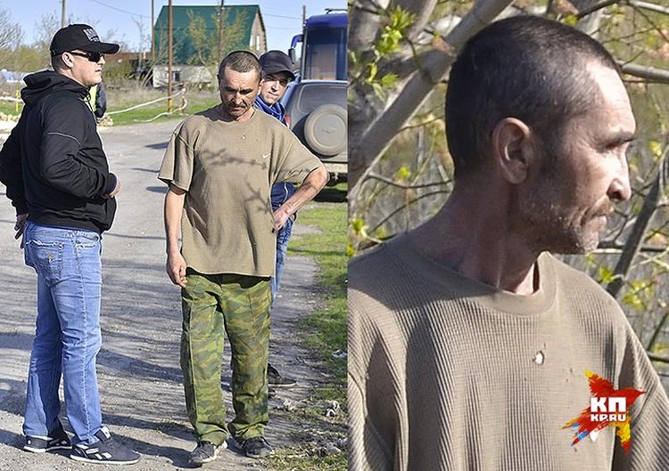 Следователи допрашивают местного жителя по делу расправы над семьей полицейского Гошта.