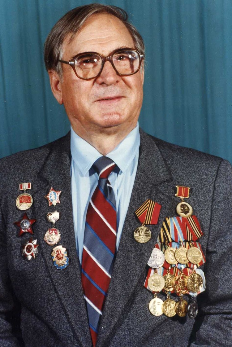 Михаил Долженко - ветеран ВОВ.