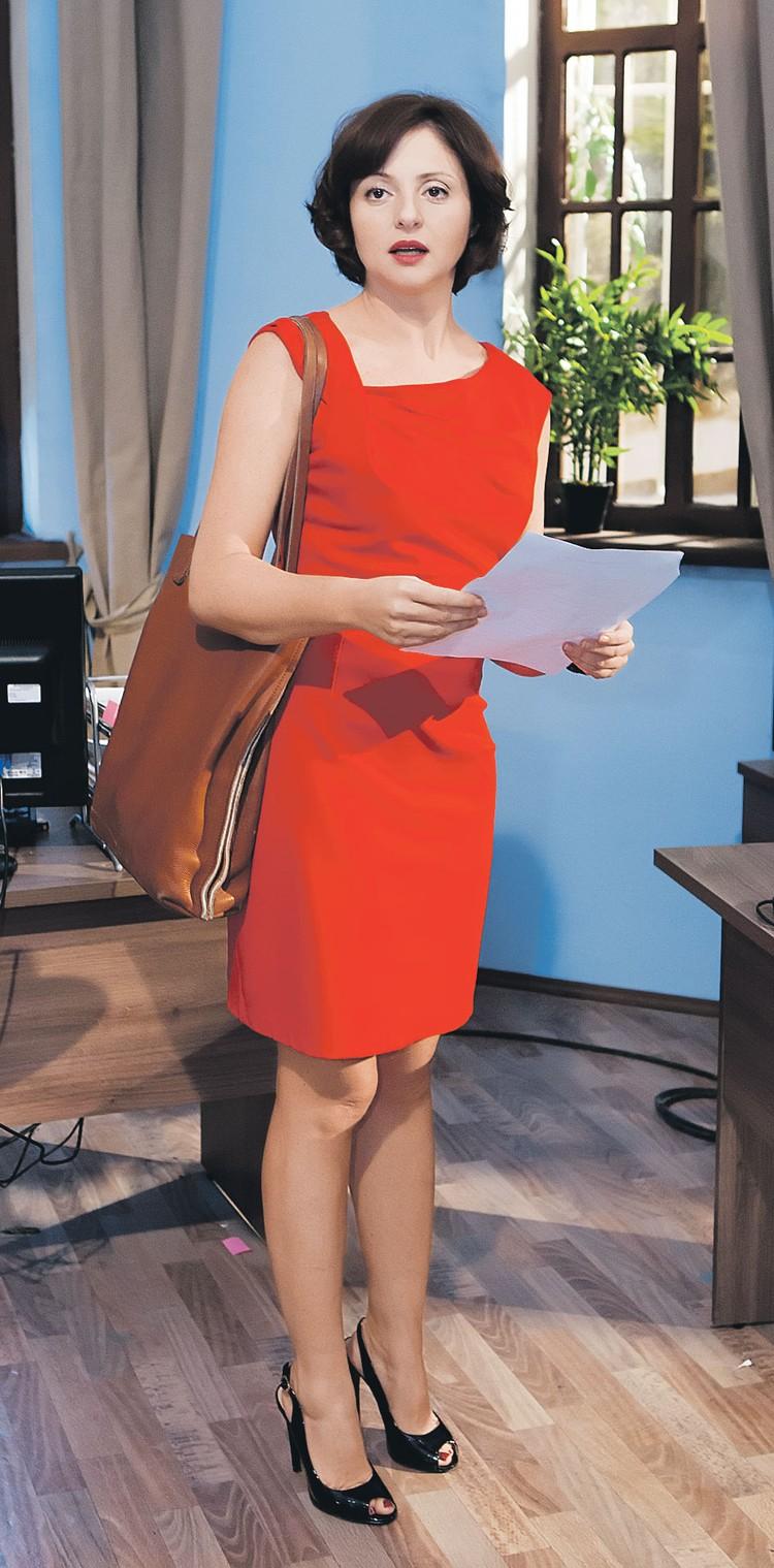 Героиня Банщиковой, по словам актрисы, олицетворяет собой всех женщин России. Фото: Первый канал