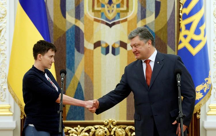 Савченко заявила, что готова снова убивать «русню» и воевать на Донбассе