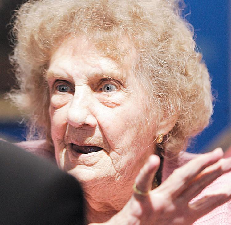 Эльжбета Радзивилл мечтает в следующем году отметить свое 100-летие в родовом замке.