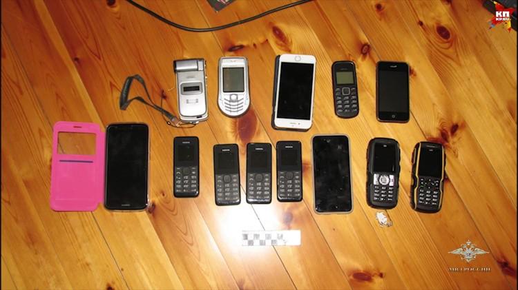 Преступники пользовались простыми телефонами Фото: МВД РФ