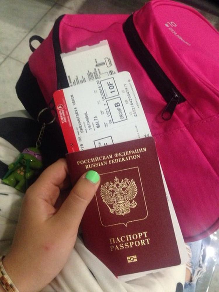 В Стамбуле девочка должна была пробыть всего два часа. Фото: личная страница ВК