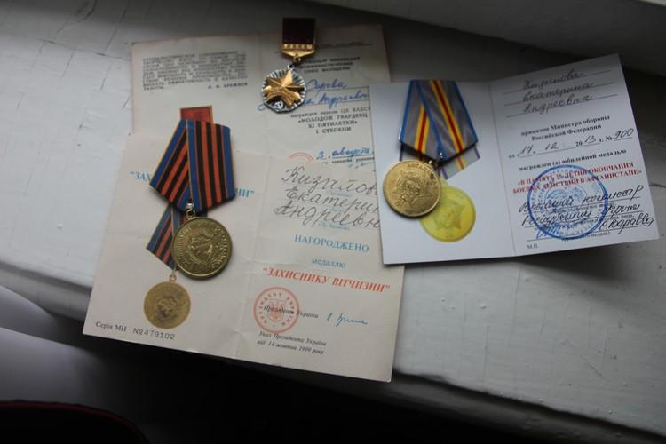 Учительница музыки тоже стала участницей боевых действий и получила многочисленные награды