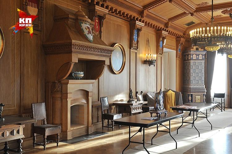 """В """"Путевом дворце"""" заканчивается реставрация и скоро это место станет доступно для туристов."""