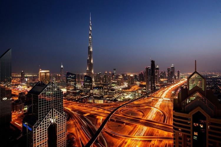 Бурдж Халифа - небоскреб-рекордсмен, 828 метров!