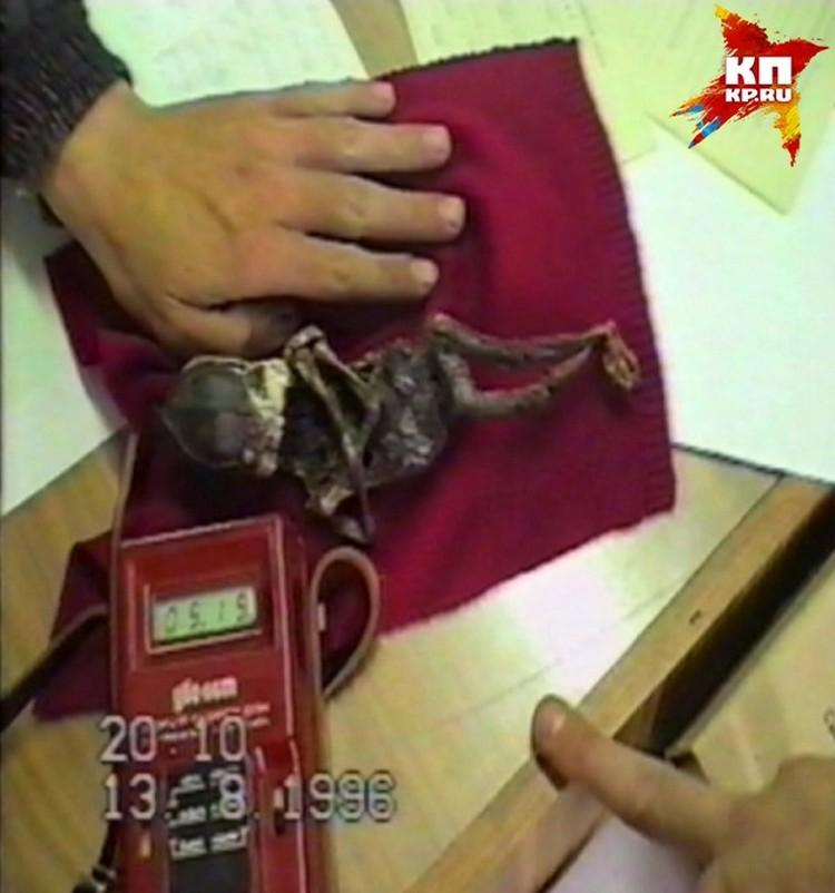 Странное существо обнаружили в уральском городе Кыштыме еще в 1996 году