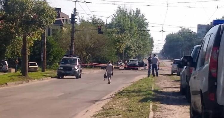 В субботу, в 7.50 утра, в Луганске прогремел взрыв