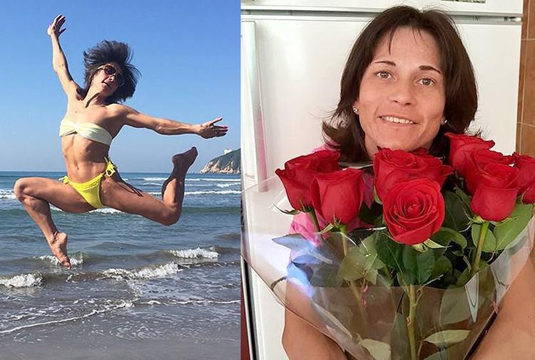 Несмотря на почтенный для её вида спорта возраст, спортсменка находится в отличной форме и борется за медали седьмой на её счету Олимпиады!