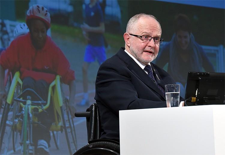 Глава Международного паралимпийского комитета Филипп Крайвен