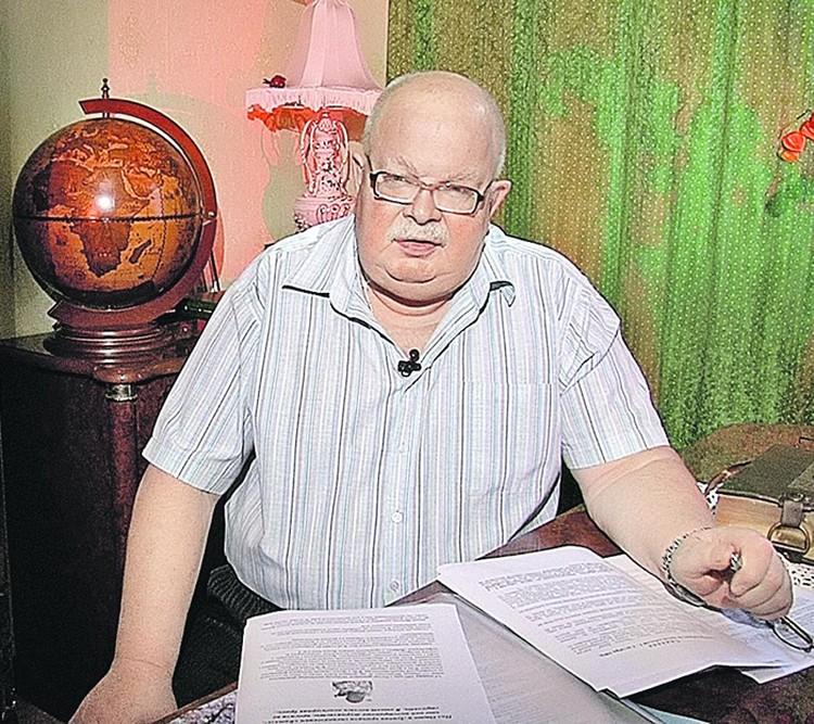 Бывший старший следователь Генпрокуратуры Леонид Прошкин