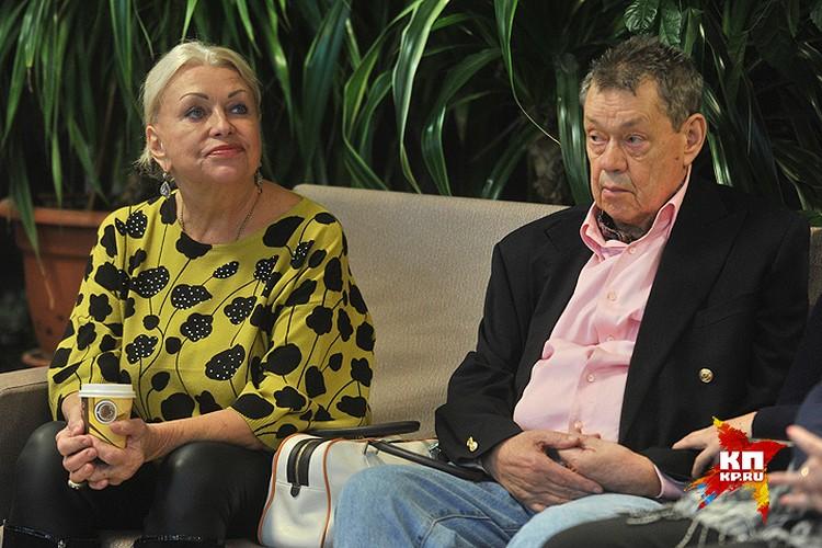 Людмила Поргина и Николай Караченцов.