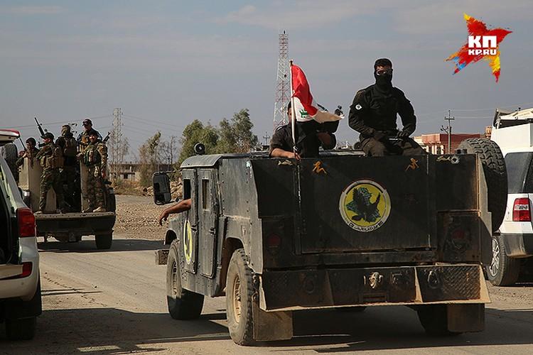 «Хамви» иракских армейских частей.