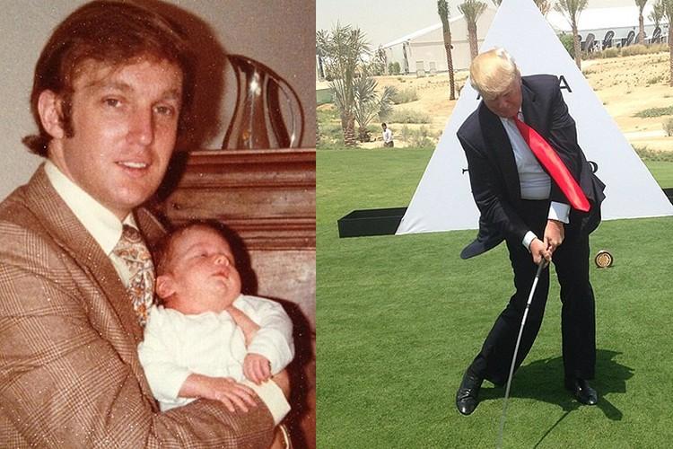 У 45-го президента США пятеро детей от трех браков и восемь внуков.