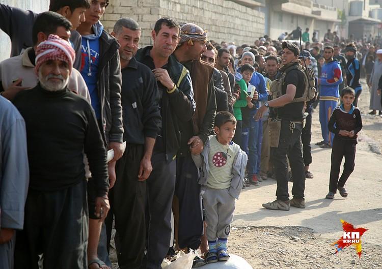 Гуманитарная ситуация катастрофическая