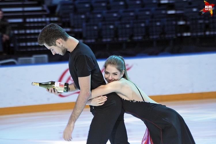 Выступление пары Александра Назарова и Максим Никитин, Украина, 1 место. Фото: РОЛЬСКИТЕ Мария