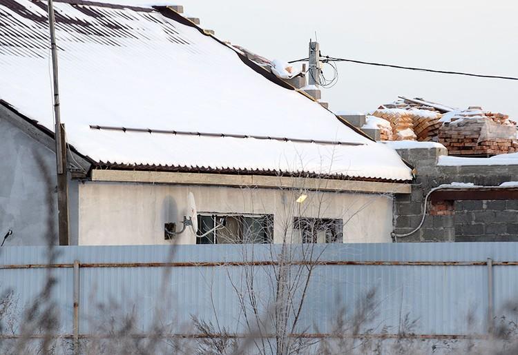 В этом доме в Смышляевке произошло нападение на подполковника и его жену.