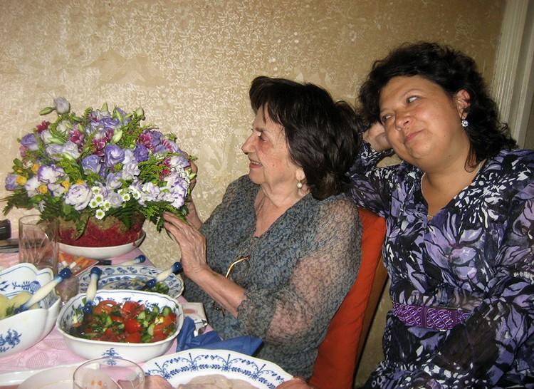 Инна Руденко и Галина Сапожникова