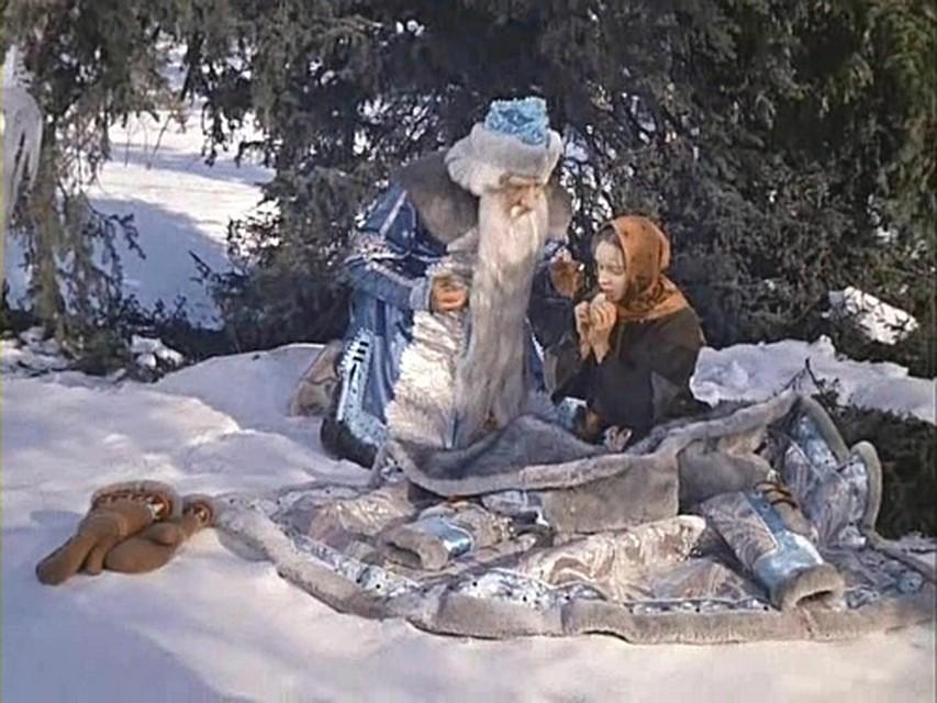 Кадры из сказки морозко картинки