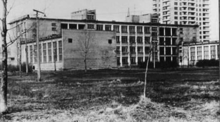 Новое здание школы, 70-е. Фото: Предоставлено школой №356