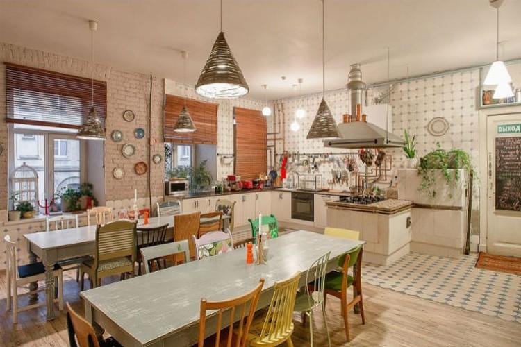 А это кухня. Фото: Официальная страница хостела