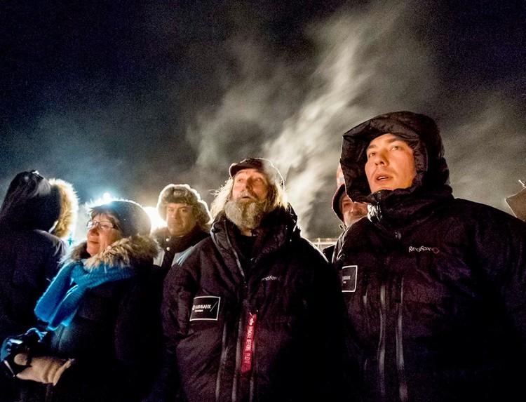 Федор Конюхов в Рыбинске. Фото: Сергей МЕТЕЛИЦА.