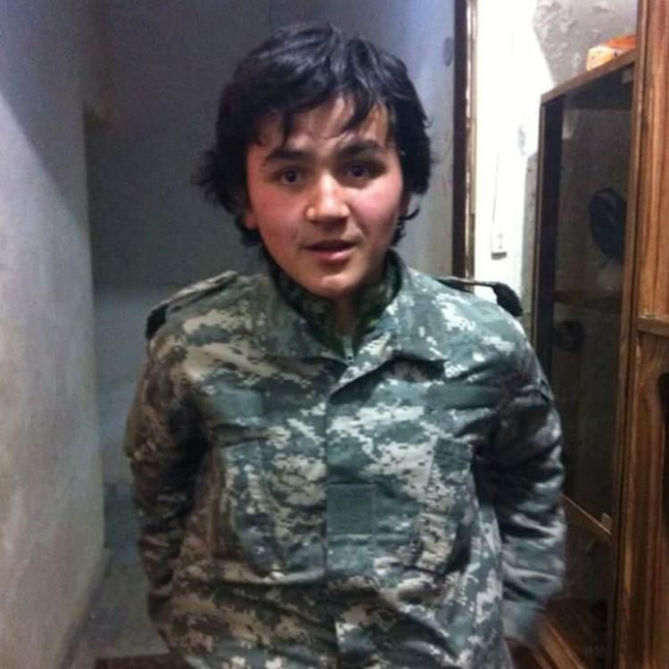 Так вояка выглядел в момент бегства из Сирии. Фото: Виктория Жук.