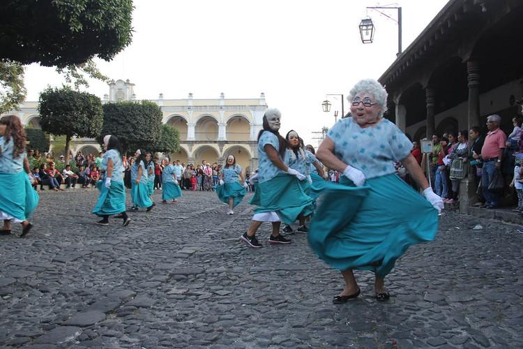 Городской праздник в городе Антигуа в Гватемале Фото: личный архив
