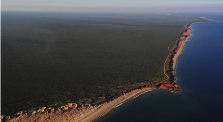 """Побережье австралийского """"Парка Юрского периода"""", как здесь называют полуостров Дампир."""