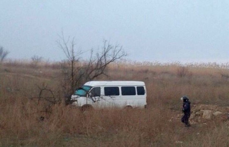 Газель преступники бросила на окраине села Три протока