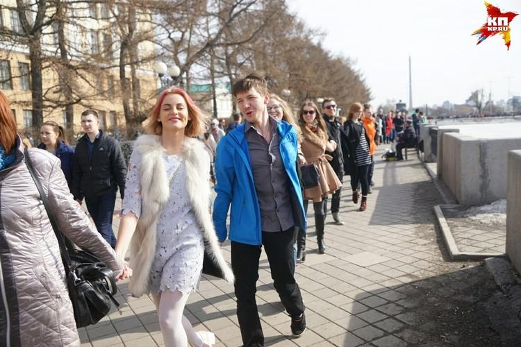 Жители Екатеринбурга хотят оставить вид пруда первозданным