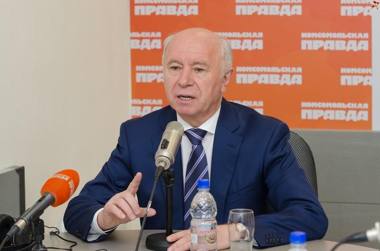 Николай Меркушкин заявил, что слухи о его отставке распускаю противники перемен