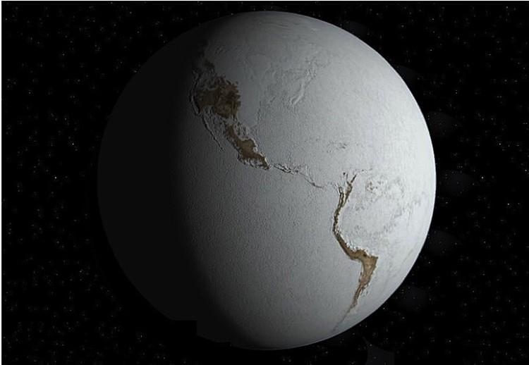 """""""Земля-снежок"""" - такой была наша планета, когда Солнце ее совсем плохо грело."""