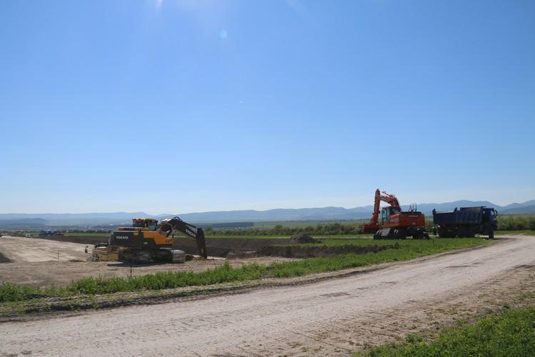 """Строительство """"Тавриды"""" сейчас ведется в Белогорском районе."""