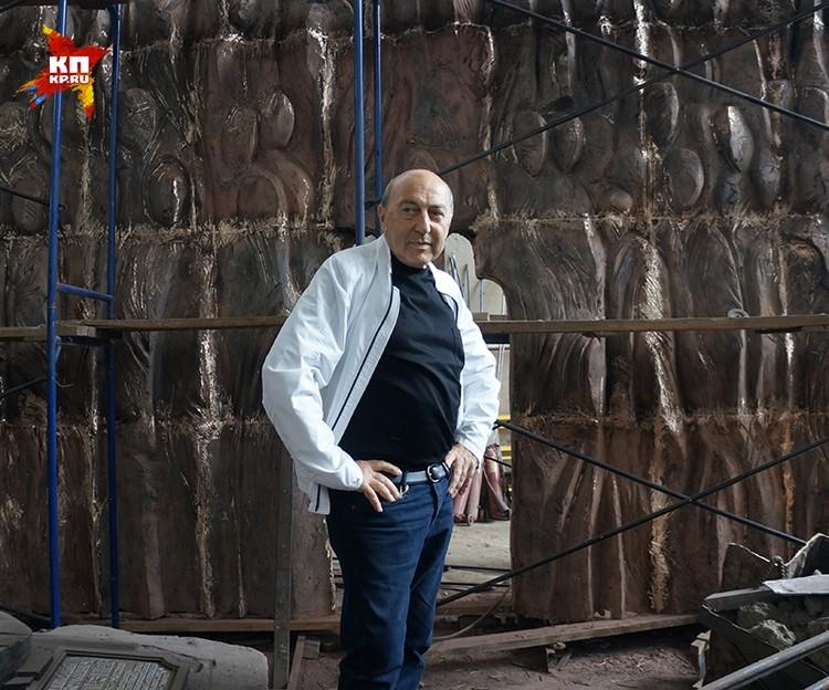 Скульптор Георгий Франгулян