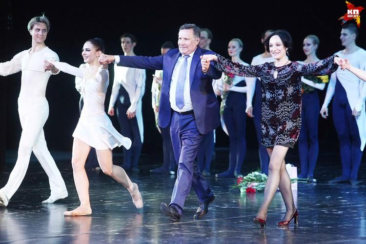 Вячеслав Заренков - автор либретто, хореограф балета Александра Тихомирова.