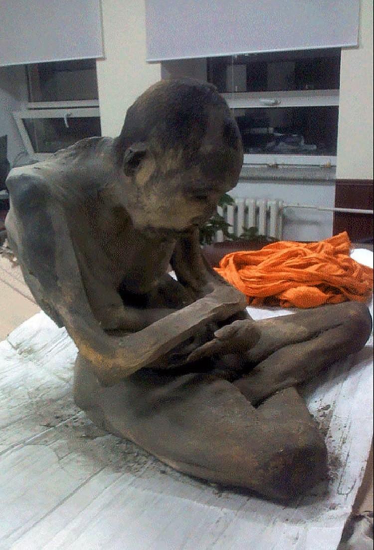 200-летняя мумия монгольского монаха