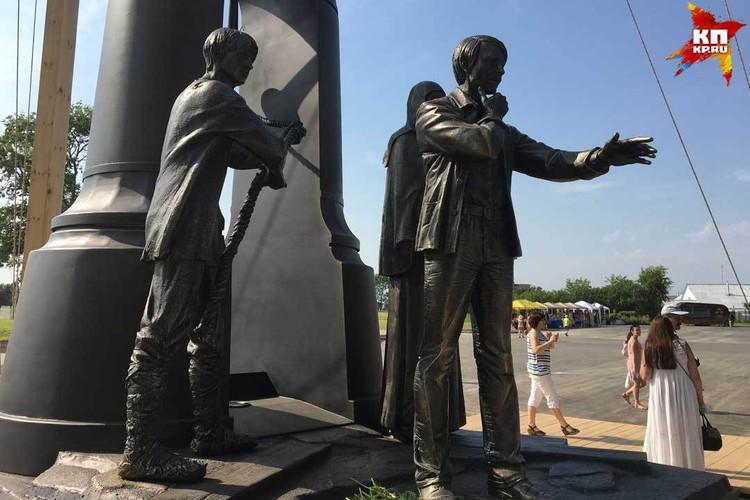 Памятник появился в Суздале