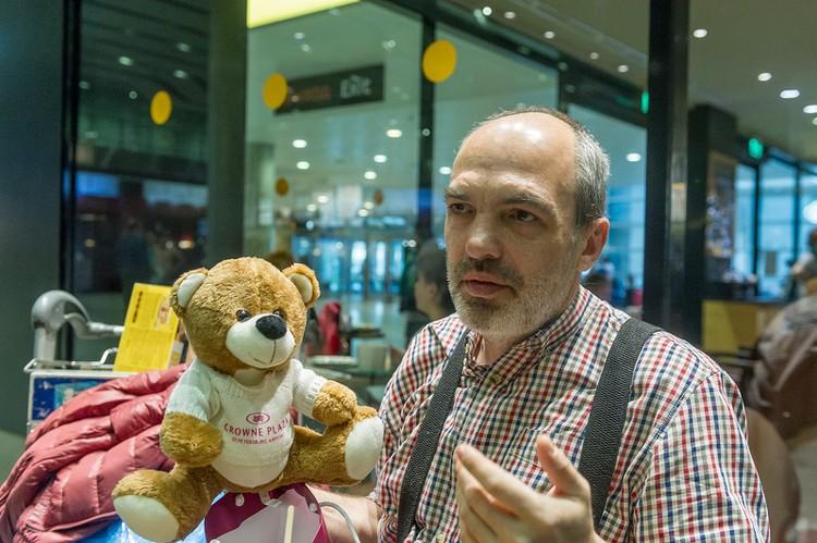Петербуржцы оплатили врачу гостиницу и даже подарили мягкую игрушку